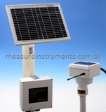 Soil Moisture Monitoring Remote Station with 2 moisture and temperature sensors
